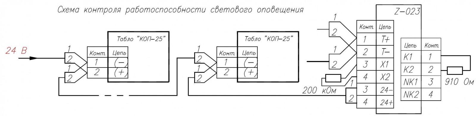 подключения схема табличка выход