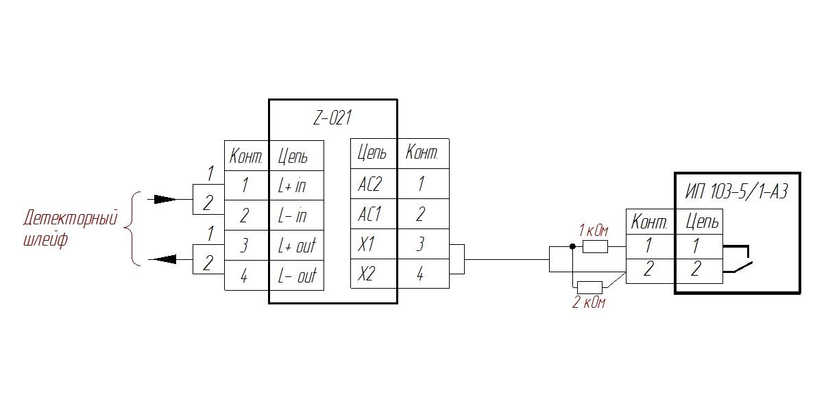 Схема подключения 5 1